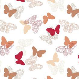 Рулонная штора, Бабочки 03