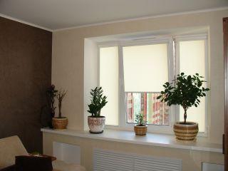 Рулонные шторы со светорассеивающей тканью Эко>