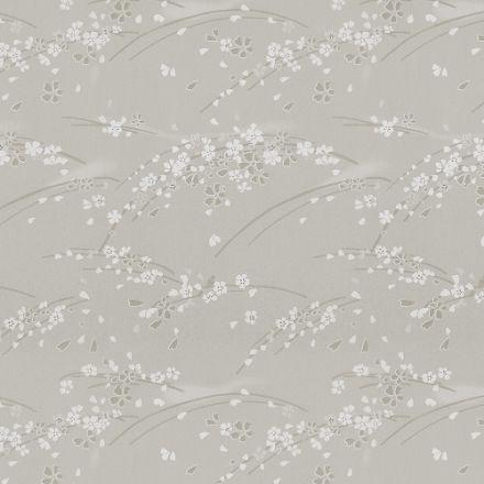 Рулонная штора, Сакура 08 тёмно-серый