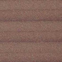 Шторы плиссе, Креп, коричневый