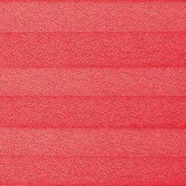 Шторы плиссе, Креп, красный