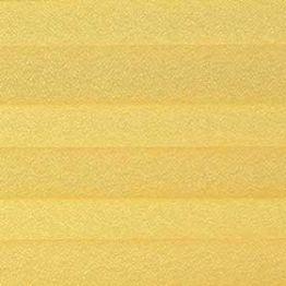 Шторы плиссе, Креп, лимонный