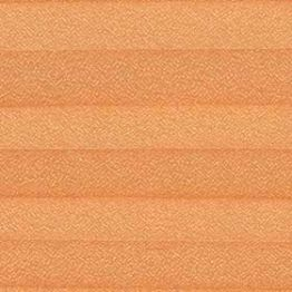 Шторы плиссе, Креп, оранжевый