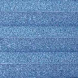 Шторы плиссе, Креп, синий