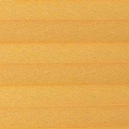 Шторы плиссе, Креп, желтый