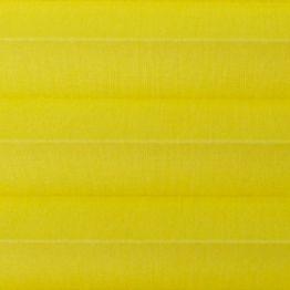 Штора плиссе, Опера, желтый