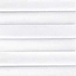 Штора плиссе, Опал, белый