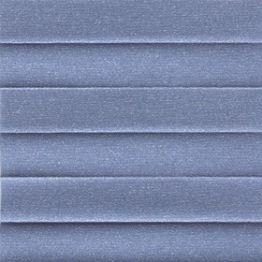 Штора плиссе, Опал, голубой