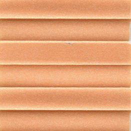 Штора плиссе, Опал, оранжевый