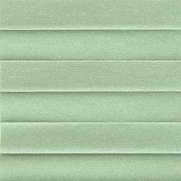 Штора плиссе, Опал, зеленый