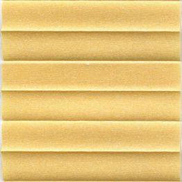 Штора плиссе, Опал, желтый