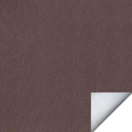 Рулонная штора, Альфа ALU темно-коричневый, 250 см