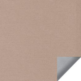 Рулонная штора, Альфа ALU B/O (светло-коричневый)