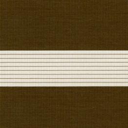 """Рулонная штора """"Зебра"""", Стандарт, коричневый"""