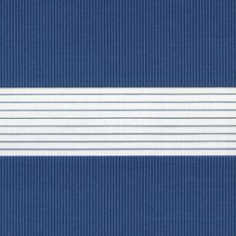 """Рулонная штора """"Зебра"""", Стандарт, синий"""