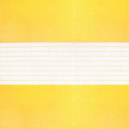 """Рулонная штора """"Зебра"""", Стандарт, желтый"""