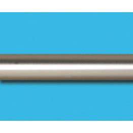 Труба гладкая, сатин, 16 мм