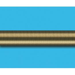 Труба гладкая, антик, 19 мм