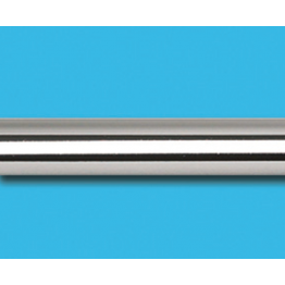 Труба гладкая, хром, 25 мм