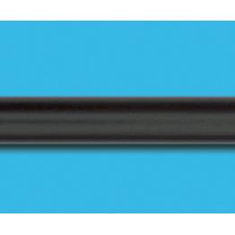 Труба гладкая, Венге, 25 мм
