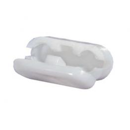 Замок цепи управления белый пластиковый