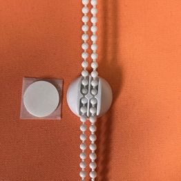 Фиксатор цепи без сверления, белый