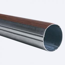 Труба стальная с клейкой лентой 25 мм