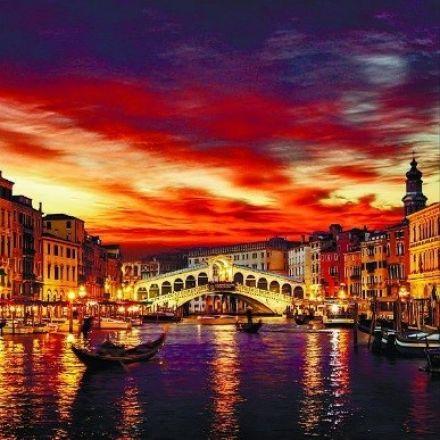 Рулонная штора, Вечерняя Венеция